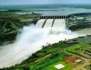 Itaipu Dam Brazilian side